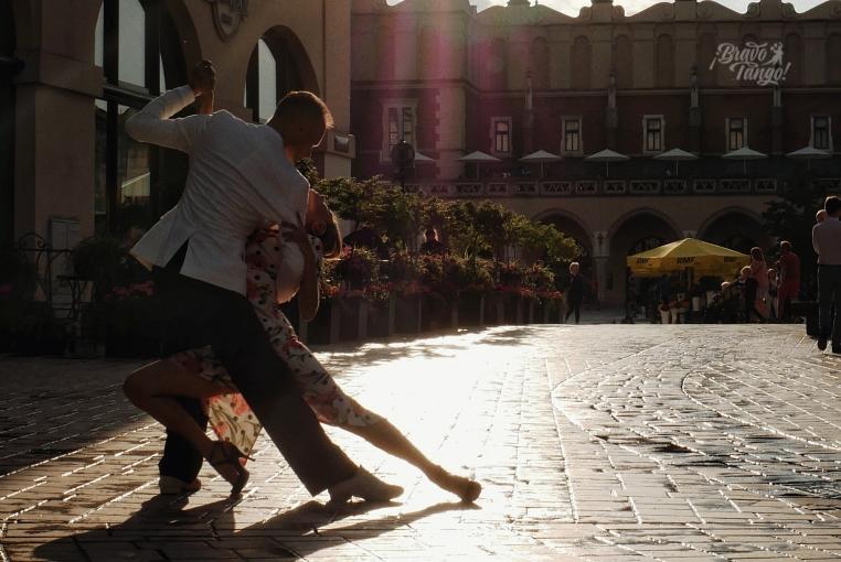 tango na krakowskim Rynku